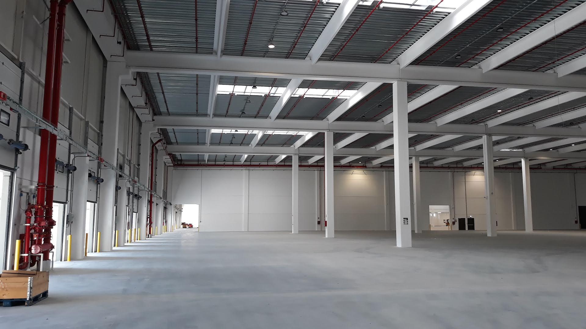 Logistic hub